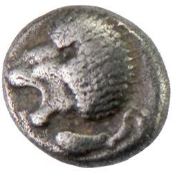 MILETOS: Anonymous, ca. 5th century BC, AR obol (1.16g)