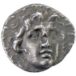 RHODES: Anonymous, ca. 167-88 BC, AR hemidrachm (1.13g)