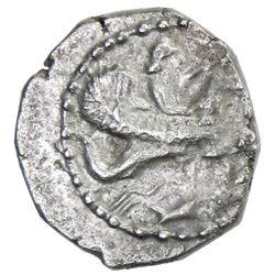 TYRE: 'Uzzimilk, ca. 347-332 BC, AR half shekel (8.68g), 336/5 BC