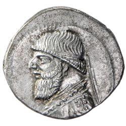 PARTHIAN KINGDOM: Mithradates II, c. 123-88 BC, AR drachm (4.14g)