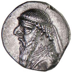 PARTHIAN KINGDOM: Mithradates II, c. 123-88 BC, AR drachm (3.98g)