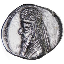 PARTHIAN KINGDOM: Mithradates II, c. 123-88 BC, AR drachm (3.72g)