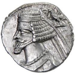 PARTHIAN KINGDOM: Phraates IV, c. 38-2 BC, AR drachm (4.01g), Ekbatana