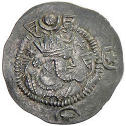 "SASANIAN KINGDOM: Kavad I, 2nd reign, 499-531, AR drachm (4.05g), ""YRW"", year ""17"""