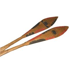 NWC Painted Paddles