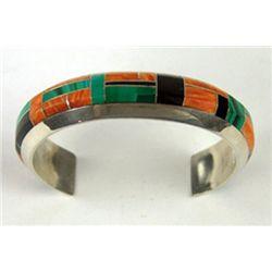 Zuni Inlay Bracelet - W