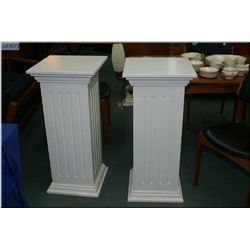 "Two column style pedestal 36"" in height,  16""  square"