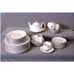 Paragon dinnerware with settings for eight of dinner plates, salad plates, side plates, teacups  and