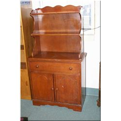 A semi-contemporary Welsh dresser style cabinet