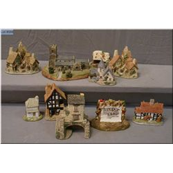 A selection of David Winters and Lilliput Lane cottages etc