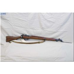 Lee Enfield ( Long Branch Dated 1942) mod No 4 MK I *, clip fed bolt action full wood military Rifle