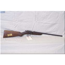 "Cooey mod ACE-1 .22 cal bolt act single shot Rifle w/17"" bbl [ blue turning brown, stock has some ag"