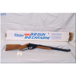 Daisy mod 1938B 4.5 MM BB Gun [ Red Ryder Cowboy Insignia in stock, saddle ring lever act, shows som