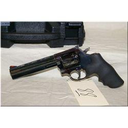 "Dan Wesson mod 15-2 .357 mag cal double action Revolver w/6"" vent rib heavy shroud [ blue finish, ad"