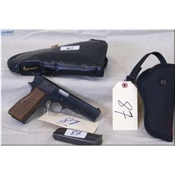 Browning mod Hi Power  Browning Collectors Assoc Edition ( 1980) .9 MM cal 10 shot  semi auto Pistol