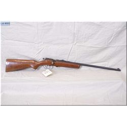 Hiawatha mod Hiawatha .22 cal single shot Rifle , w/22 bbl [ blue finish starting to fade, varnished