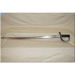 English or Canadian Cavalry Sabre Pattern 1882, short pattern, marked X on blade at grip