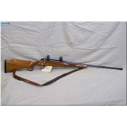 "Schultz & Larsen mod M60 .7 x 61 Sharp& Hart cal, bolt action Rifle, w/26"" bbl w/muzzle break [ good"