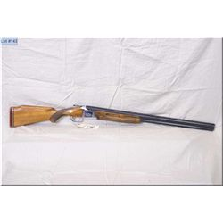 "Nikko mod EVB712 .12 Ga 2 3/4"" Over & Under Shotgun w/30"" vent rib barrels [ fading blue finish, coi"
