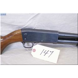 "Ithica mod 37 Feather Light .12 Ga 2/4"" pump act Shotgun w/30"" bbl [ blue finish, some carry wear, p"