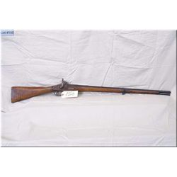 """British Broad Arrow Marked .60 Perc cal single band Musket w/ 31"""" bbl [ dark finished barrel stamped"""