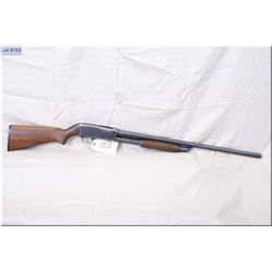 "Stevens mod 820B .12 Ga pump action Shotgun 2 3/4"" w/28 "" bbl [ blue fininsh w/carry wear, good pist"