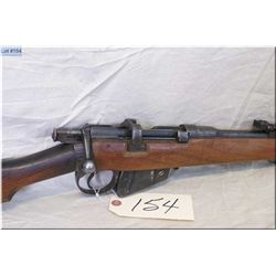 Lee Enfield (Lithgow) mod # 1 Mk III * .303 cal sporterized Rifle w/640 mm bbl [ patchy blue finish,