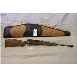 """Lee Enfield mod No 4 Mk I (F) .303 cal sporterized Rifle w/22"""" bbl [ re-blued, barrel sights, checke"""