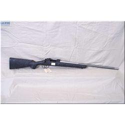"Remington mod 700 .223 Rem cal bolt act Rifle w/25"" stainless fluted bbl [ blued recvr, black & grey"