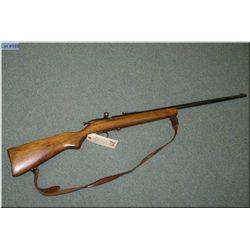 "Hiawatha mod Hiawatha .22 cal single shot Rifle , w/27"" bbl [ appears good, blue finish starting to"
