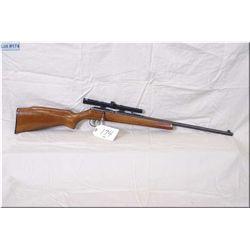 "CIL Anschutz mod 167 .22 LR cal single shot bolt action Rifle w/22"" bbl [ blue finish w/some slight"