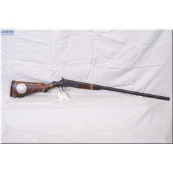 "Marshall Arms Co. Mod Single Barrel .12 Ga break action Shotgun w/30"" bbl [ old blue finish, cracked"