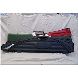 Lot of Four Gun Cases : Woodstream green hd plastic foam lined rifle case w/key - Flambeau Outdoors