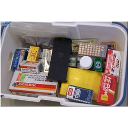 Plastic Tray : Misc Ammo mostly .22 cal including Yellow Jacket, Bird Shot, Stinger, etc.