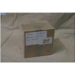 Lot : Approx 62 Rnds Factory British Military .303 Brit Ammo [ two boxes ]