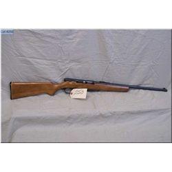 "Stevens mod 85 .22 cal clip fed semi auto Rifle w/20"" bbl [ blue finish, barrel sights, p.grip stock"
