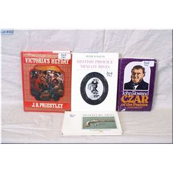 Lot : Four Hard Cover  Reference Books : Miniature Arms by Merrill Lindsay - John Rowland Czar of th