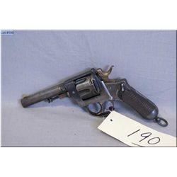 Italian Service ( Glisenti ) mod Bodeo M 1889  10.4 cal 6 shot Revolver w/117 mm bbl [ fading blue f