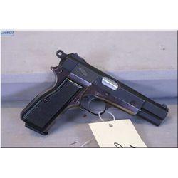 Browning Inglis mod No 1 MK 1 * .9 MM cal 10 shot semi auto Pistol w/118 mm bbl [ blue fininsh start