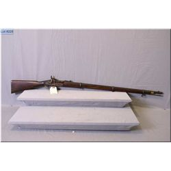 "Snider Enfield 1861 MK II ** .577 Snider cal Three Band Rifle w/36 5/8"" bbl. [ blue turning brown, g"