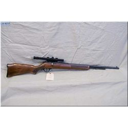 "Cooey/Win mod 600 .22 LR cal Rifle w/24"" bbl [ blue finish w/barrel sights, w/side mounted Hunter 4"