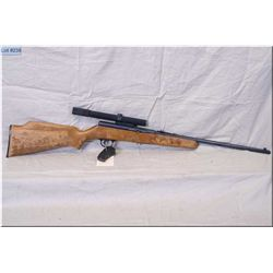"Lakefield Mark II .22 LR cal auto loader Rifle w/20 "" bbl [ blue finish w/patchy places, barrel sigh"