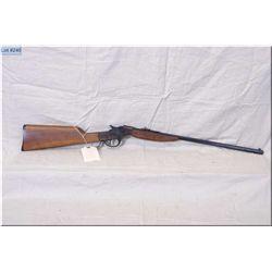 "Savage mod 72 Falling Block single shot .22 LR cal Rifle w/22"" oct bbl [ blue finish, case color rcv"