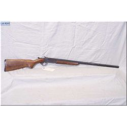 "Ranger Hinge Break  single shot .12 Ga Shotgun w/30"" bbl [ patchy blue finish w/some surface rust, f"
