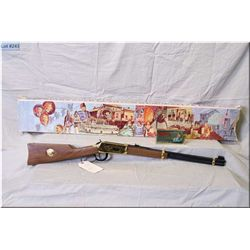 "Winchester mod 94 Klondike Gold Rush Commemorative .30-30 lever act Rifle w/20"" bbl [ w/orig box, bo"