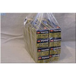 Lot : Eight ( 20 rnds per) Boxes CIL Imperial .44 Rem Mag Ammo