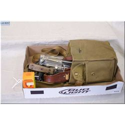 T/L Canvas Bag : trigger lock, cleaning rods, knives , etc