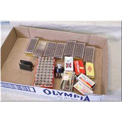 Lot : 11 Boxes Assorted .22 LR cal ( 50 rnds per) - 50 Rnds .38 Spec ammo - speed loader