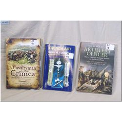 "Lot : Three Books : Hd Cov ""A Cavalryman in the Crimea [ The letters of Temple Godman 5 Th Dragoon G"