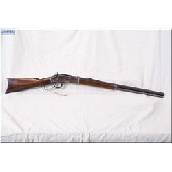 Winchester mod1873 Third model  .38 WCF cal lever action Rifle w/24 oct bbl full mag [ Circa 1890 bl